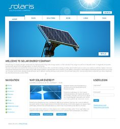 Solaris Solar Drupal Templates by Hugo