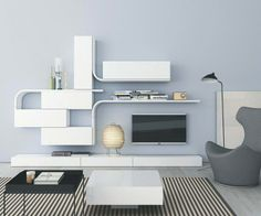 Perfekt Wandregal Design Minimalistisch Wave Novamobili Glanzlack | For Home |  Pinterest | Designs., Wandregal And Waves