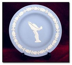 Image detail for -Wedgewood Spirit of Ecstasy Plate [DM745629] - £50.00 : Rolls-Royce ...