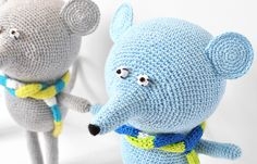 crochet toy mouse