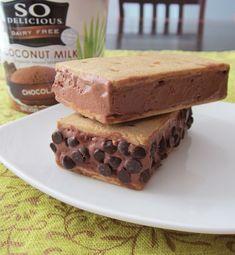 Dairy-Free Ice Cream Sandwiches