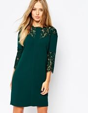 Whistles Lace Shift Dress