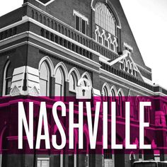 """Nashville's famous Ryman Auditorium - the most-famous home of the Grand Ole Opry and a """"must see"""" for every visitor to music city"""