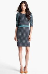 Ivy & Blu for Maggy Boutique Intarsia Sweater Dress
