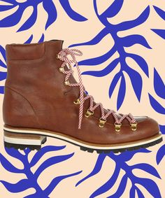 Mountain Boots - Hiking Boot Trend, Fall Winter Shoes | The shoe trend that's about to be everywhere is actually practical. #refinery29 http://www.refinery29.com/mountain-boot-trend