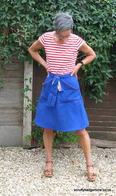 Tilly's Miette Skirt by Winnie of Scruffy Badger Time