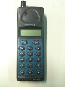 1999 - Ericsson GA628    lol this actually was my 2nd cell phone!!! haha