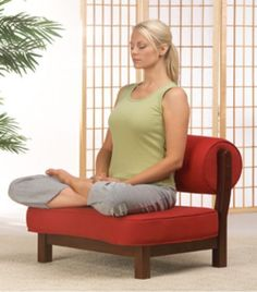 The Rama Meditation Chair from Zen By Design More #ZenMeditation