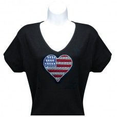 Heart Flag Shirt
