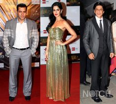 Bollywood stars Katrina Kaif, Deepika Padukone, SRK, Salman Khan and others sparkled on the red carpet at Big Star Entertainment Awards. Who do you think walked away with the Best Couple award?