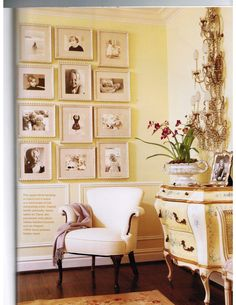 French Country Enchanting Yellow White