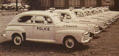 New 1946 Ford Police Cars