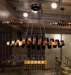 Loft Retro rust Wrought Iron Vintage Pendant Lights Industrial Pendant Lamps Bar Cafe Restaurant Hanging Lamp luminaria Lighting-in Pendant Lights from Lights & Lighting on Aliexpress.com | Alibaba Group
