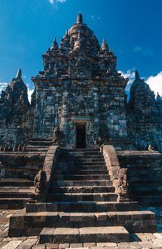 Prambanan temple, Java, Indonesia by Mykola Velychko on Flickr. Buddhist Architecture, Art And Architecture, Bali Lombok, Borobudur, Dutch Colonial, Hindu Temple, Yogyakarta, Asia Travel, Temples