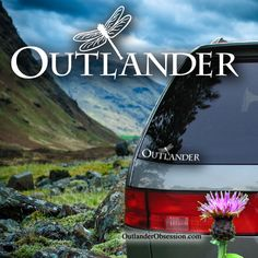 Outlander Dragonfly decal