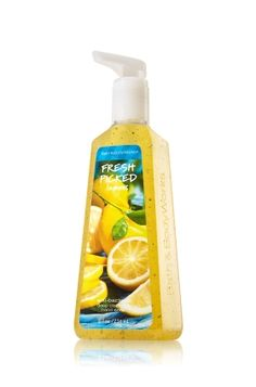 Fresh Picked Lemon Deep Cleansing Hand Soap - Keep your hands deeply cleansed, soft and clean with this sparkling scent of fresh picked lemons. <3  #LUVBBW