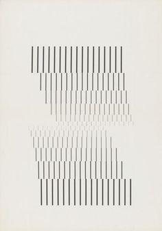 Wolfgang Weingart [Line research series 2 of Line Patterns, Textures Patterns, Music Visualization, Plakat Design, Generative Art, Grafik Design, Line Design, Geometric Art, Op Art