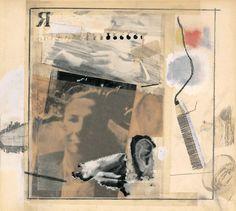 Untitled [self-portrait for Dwan poster] | Robert Rauschenberg Foundation