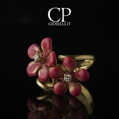 """Piccoli Petali "" collection  are waiting for you @ VICENZAORO SEPTEMBER 2016 3-7 september 2016  www.cpgioielli.it ditribuited by CP srl booth 223 Pav. 2  www.cpgioielli.it - www.afroditegioielli.eu  #gioielli #gioielleria #oreficeria #jewellery #jewelry  #precious #love #family #fashion #design #quality #madeinitaly #top #news #trend #shopping  #cp # #vicenza #oro  #diamanti #Italia #gold #italiandesign #love"