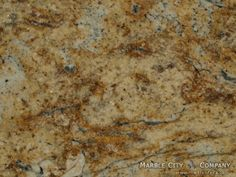 Yellow Moon granite — Macro View