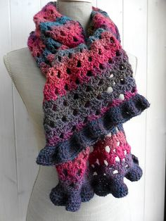 Scarf crochet... diagram