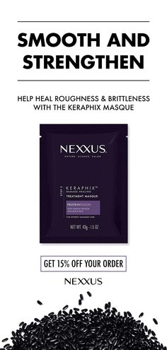 The Nexxus Keratin Masque For Damaged Hair is a deep conditioning masque that envelopes the hair surface with an ultra-fine film to restore the protective barrier. Continued use with Keraphix system enables restorative agents to increase the resilience of Coconut Oil Hair Treatment, Coconut Oil Hair Growth, Coconut Oil Hair Mask, Diy Hair Care, Hair Care Tips, Hair Tips, Hair Ideas, Keratin, Nexxus Hair Products