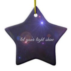 Star Quotes Ornaments & Keepsake Ornaments | Zazzle