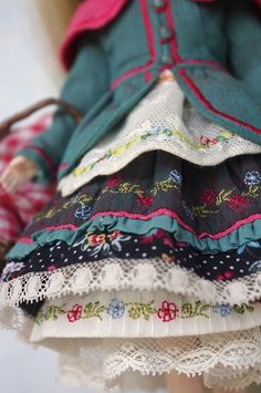 Одежда для кукол от Фредерик - 3 Июня 2016 - Кукла Тильда. Всё о Тильде, выкройки, мастер-классы.
