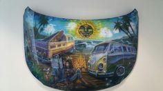My favorite mural .vw hood