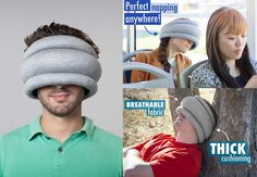 And for those who need even more silliness at a reduced price: Ostrich Pillow Light!!