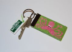 #needlepoint #preppy #keychain