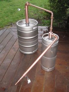 Beer Keg Whiskey Still with Thumper & Leibig Condenser - 3/4 ...