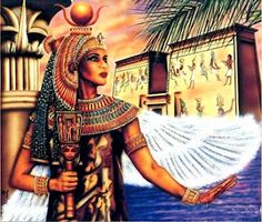 Isis: Egyptian Goddess of motherhood and fertility. Creatrix and Divine Queen.