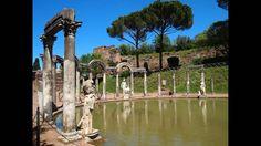 Tivoli, Villa Adriana   Hadrian's Villa, il Canopo manortiz HD 1080