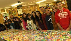 mural de los alumnos de 3 PRIMARIA A CENTRO UNIVERSITARIO CARDENAL CISNEROS de la UAH