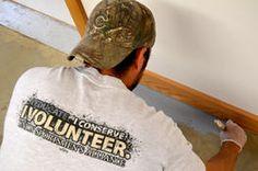 Union Sportsmen Volunteer at Youth Conservation Camp Center