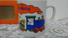 NIB- 1966 Dupont Corp Schulz Peanuts & Gang Charactors Collectible Birthday Mug