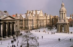 Trinity College Dublin, Dublin, Ireland...speechless.