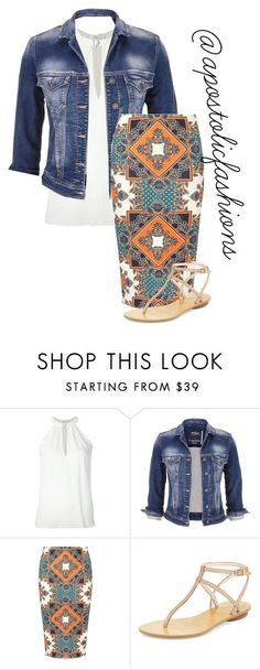 """Apostolic Fashions #1432"" by apostolicfashions on Polyvore featuring A.L.C., maurices, Dorothy Perkins and Pelle Moda"
