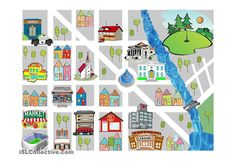 Prepositions Of Place Free Esl Worksheets