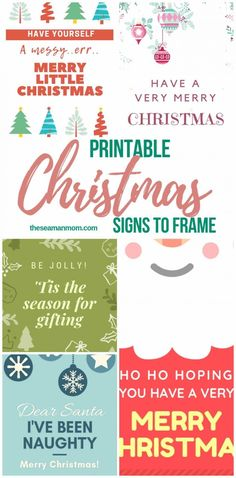 Bring the festive spirit of Christmas to your home without breaking the bank! These stunning Christmas printables are an affordable and easy way to spruce up your home decor this holiday season! Merry Christmas Printable, Very Merry Christmas, Christmas Crafts, Christmas Signs, Handmade Christmas, Christmas Holiday, Mason Jar Crafts, Mason Jar Diy, Dollar Tree Storage Bins