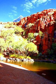The sunny side of Python Pool, Millstream-Chichester National Park, The Pilbara