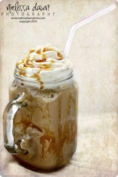 homemade caramel frappaccino