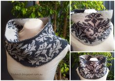 FitzBirch Crafts: Honeymoon Cowl.  Great cowl using double knitting