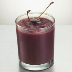 Double Chocolate Cherry Shake...feel like you're cheating on your diet (but you're not!) with this delicious recipe.
