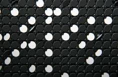 Flip-Dot Boards – Make your installation look differently Interactive Walls, Interactive Design, Black And White Google, Black White, Light Blue Color, White Light, Diy Cnc, Magic Eyes, Environmental Design