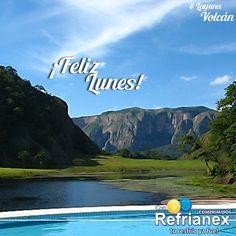 ¡FELIZ LUNES! Que tengan un EXCELENTE inicio de semana. #FelizLunes #LagunaVolcán #SantaCruz #SaludyBienestarBagó