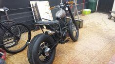 125 tw bratstyle chminow's custom work