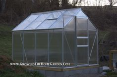 Growing The Home Garden: Gardening in the Home Landscape: Harbor Freight Greenhouse Evaluation