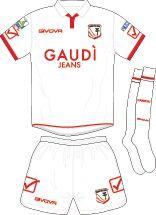 Carpi FC of Italy home shirt for 2017-18.